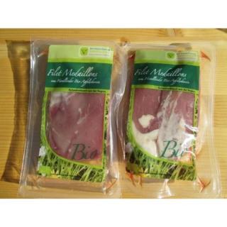 Medaillons vom Bio Apfelschweinefilet  2 St. ca. 150g