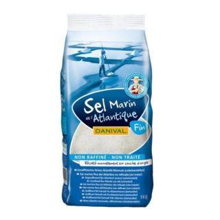 Feines Salz aus dem Atlantik, Bretagne 1kg