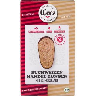 Buchweizen Vollkorn Mandel Zungen  150g