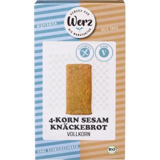 4-Korn Vollkorn Sesam Knäckebrot  150g