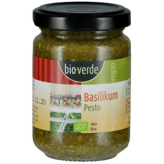 ISA 125g Basilikum Pesto vegan n. kühlpfl.
