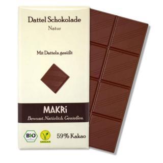 MAKRI Dattel Schokolade NATUR 59%