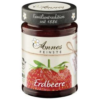 AnnesFeinste Erdbeer Konfitüre extra  225g