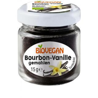 Bourbon Vanille im Glas, gemahlen