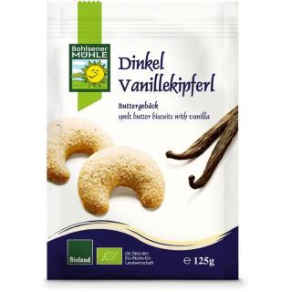 Dinkel Vanille Kipferl  125g