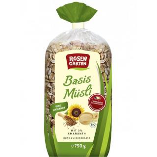 Basis Müsli mit Amaranth  750g
