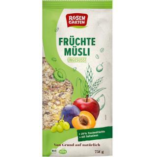 Früchte-Müsli 750g