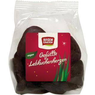 Lebkuchen-Herzen, gefüllt mit Aprikose 125g