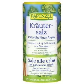 Rapunzel Kräutersalz mit Jodalgen 125g