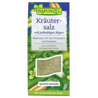 Rapunzel Kräutersalz mit Jodalgen 500g