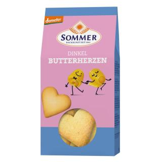 Demeter Dinkel Butter-Herzen