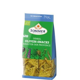 Dinkel Oliven-Snacks Provence-Kräuter, vegan