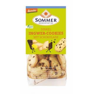 Demeter Dinkel Ingwer-Cookies, vegan