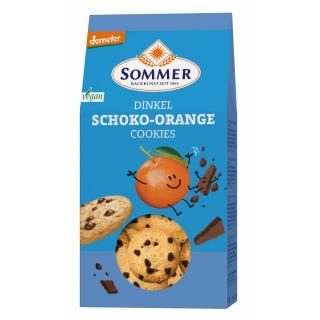 Demeter Dinkel Schoko-Orange Cookies, vegan
