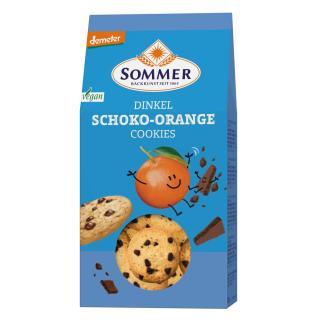 Demeter Dinkel Schoko-Orange Cookies, vegan