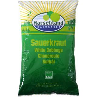 Bio Sauerkraut, im Folienbeutel  500g
