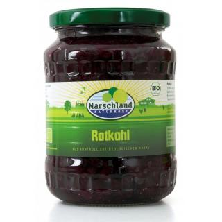 Bioland Bio-Rotkohl 720 ml Gl. MARSCHLAND