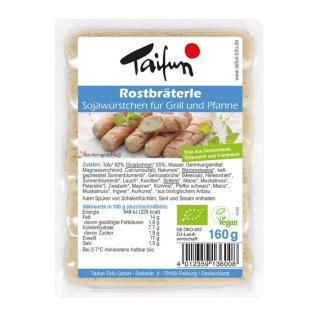 Tofu-Rostbräterle 6er-Pack  160g