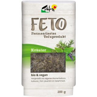 FETO Kräuter - fermentierter Tofu 200g