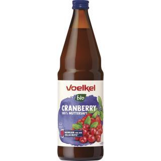 Cranberry, pur  0,75Ltr