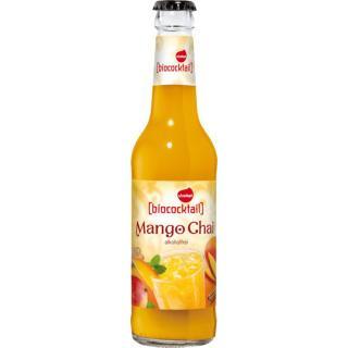 Biococktail Mango Chai, alkoholfrei  0,33Ltr