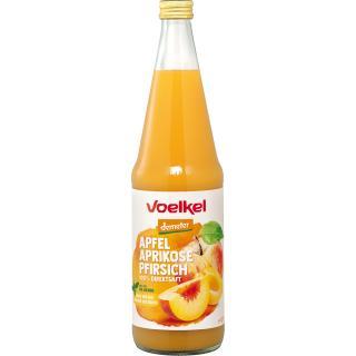 Apfel-Aprikose-Pfirsich - Mehrfruchtsaft  0,7Ltr