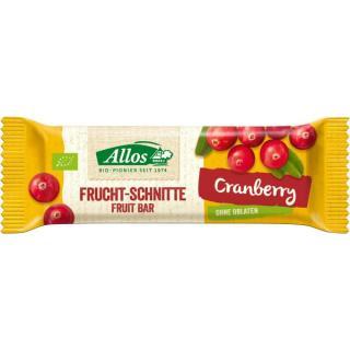 Fruchtschnitte Cranberry Allos