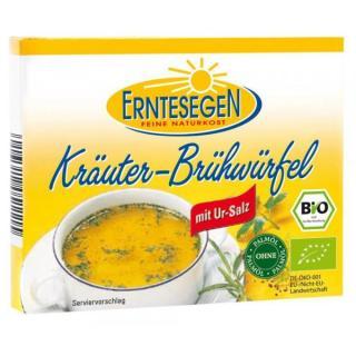 Kräuter Brühwürfel, 6St.  66g