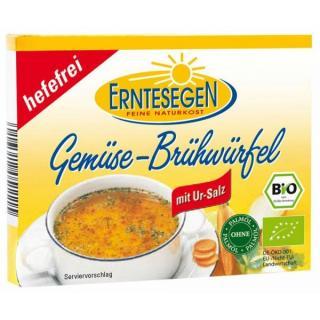 Gemüse Brühwürfel, hefefrei  66g