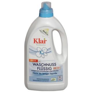 Klar Waschnuss flüssig  1,5Ltr