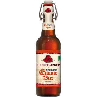 Riedenburger Emmerbier, Bügelflasche  0,5Ltr
