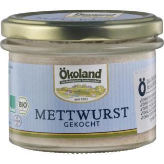 Gourmet Mettwurst gekocht  160g