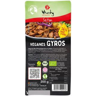 Veganes Gyros von Wheaty 200g