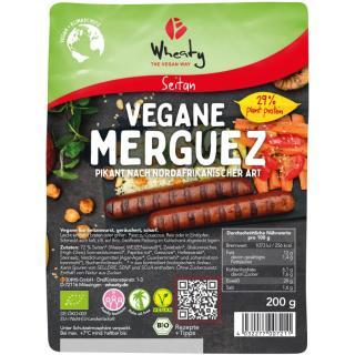 Scharfe Veganwurst Merguez
