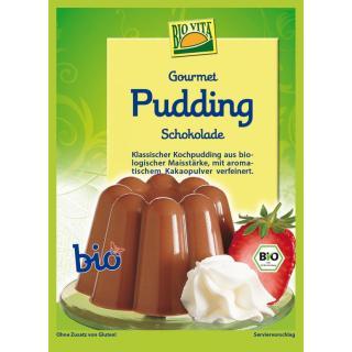 Gourmet Pudding Schokolade bio