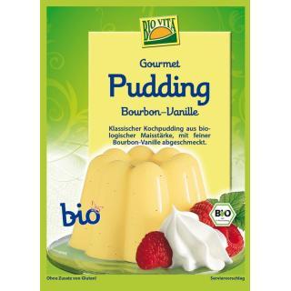 Gourmet Pudding Bourbon-Vanille bio