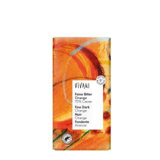Feine Bitter Orange Schokolade 100g