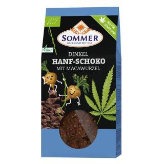Dinkel Hanf Schoko Kekse mit Macawurzel  150g