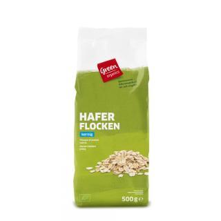 GREEN Haferflocken, grob  500g