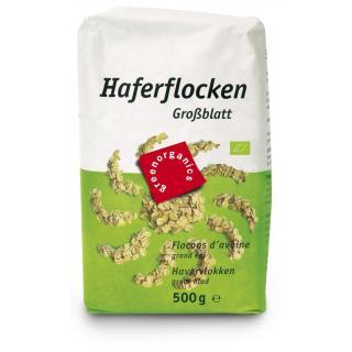 GREEN Haferflocken, Großblatt   500g