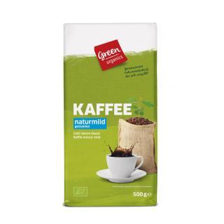 GREEN Kaffee, gemahlen  500g