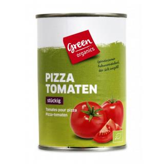 GREEN Pizza Tomaten, gewürfelt  400g  ATG 240g