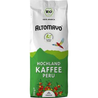 Altomayo Kaffee gemahlen, 500g