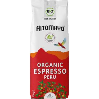 Altomayo Espresso gemahlen 250g