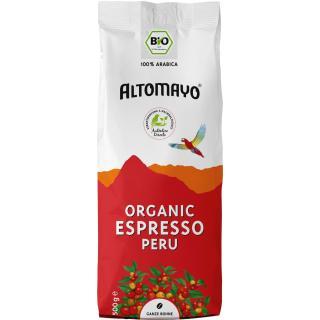 Altomayo Espresso Bohnen 500g