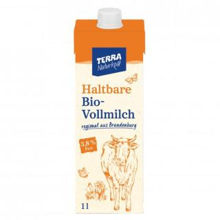 TERRA H-Milch 3,8%  1 Ltr.