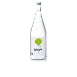 Preussenquelle Mineralwasser still  1Ltr