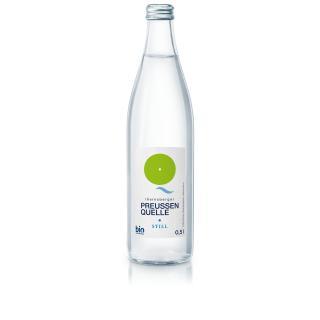 Preussenquelle Mineralwasser still  0,5 Ltr