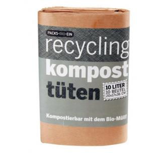 Packs Bio Ein Komposttüten  10St
