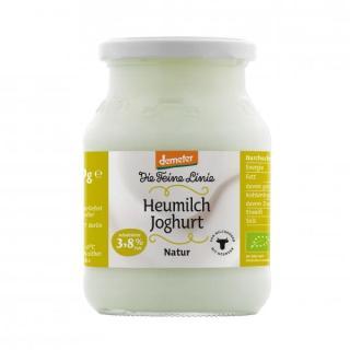 """Bio-Heumilch-Joghurt, mind. 3,8% Fett """"Die Feine Linie"""""""
